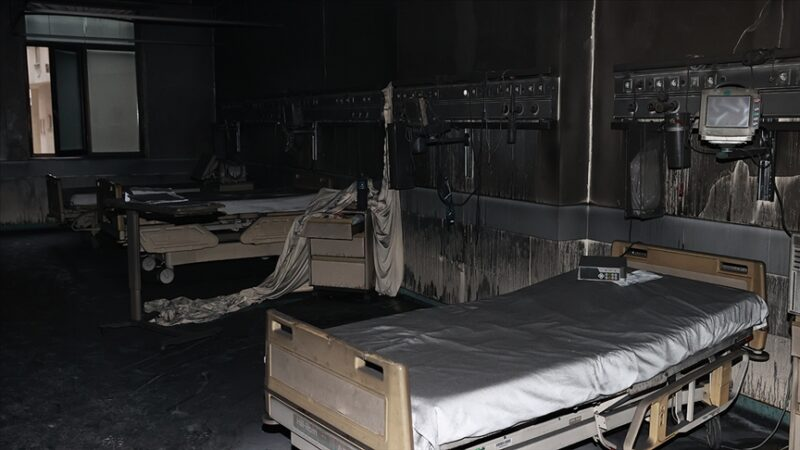 Gaziantep'ten acı haber! Hastane yangınında can kaybı 12'ye yükseldi