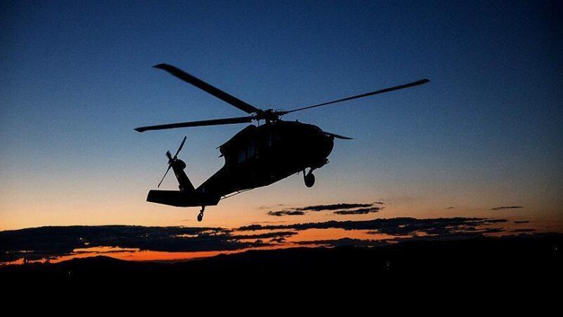 Cezayir'de askeri helikopter denize düştü: 1 ölü, 2 kişi kayıp