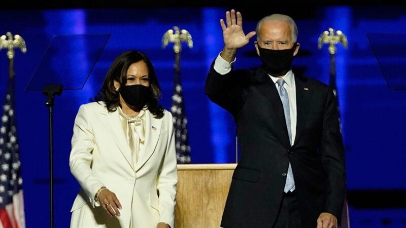 Time dergisi Joe Biden ve Kamala Harris'i 'Yılın Kişisi' seçti
