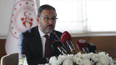 Spor Bakanı'nın Covid-19 testi pozitif çıktı
