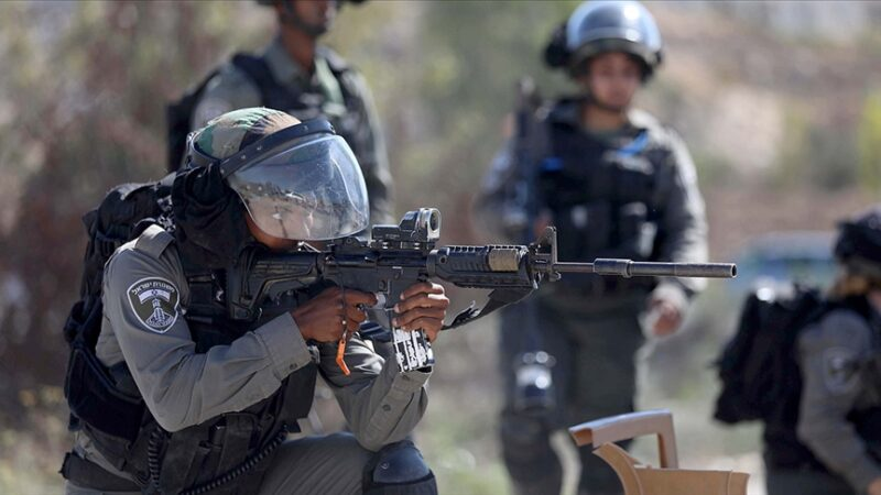 İsrail askerlerinden Ramallah'a baskın