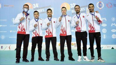 Türkiye cimnastikte Avrupa ikincisi