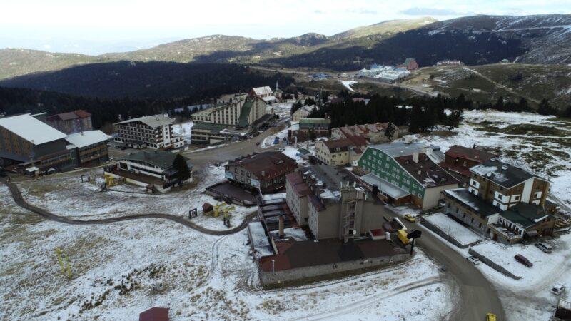 Bursa'nın en gözde merkezini hiç böyle görmediniz… Ne kar var ne de müşteri!