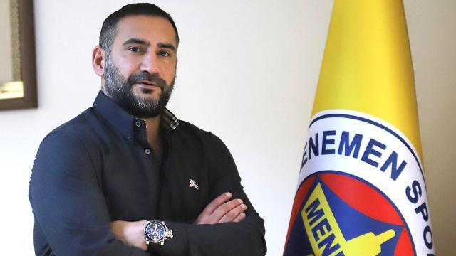 Menemenspor'da Ümit Karan imzaladı