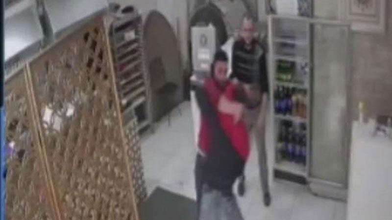 Yer: Bursa… İşyeri sahibiyle hırsız arasında arbede