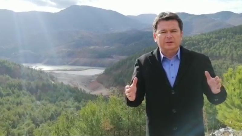 Barajdan seslendi: Ağaçlar kesilirse yağmur yağmaz barajlar dolmaz!
