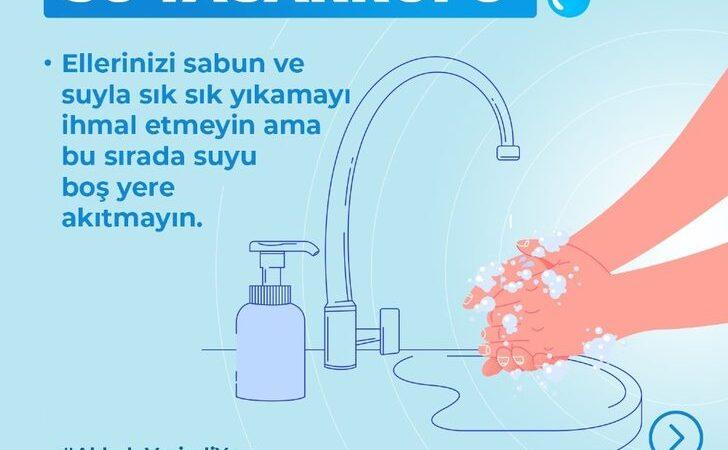 Sağlık Bakanlığı'ndan su tasarrufu uyarısı