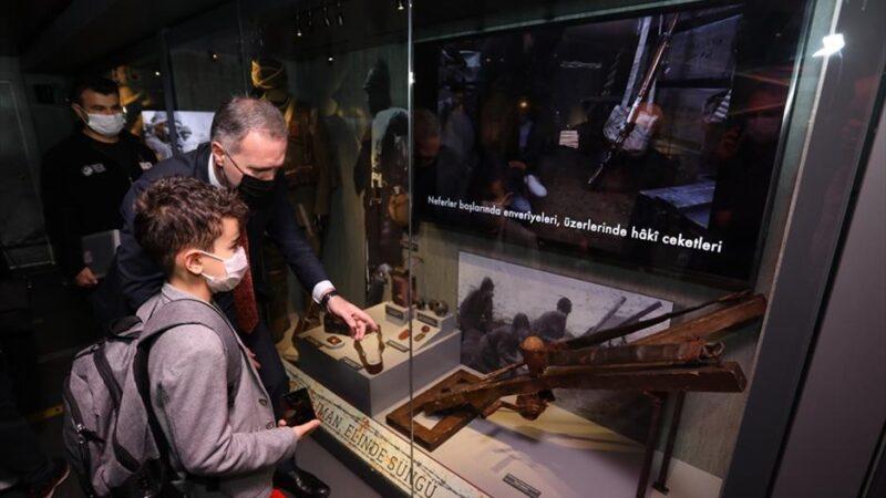 Çanakkale Savaşları Mobil Müzesi İnegöl'e geldi