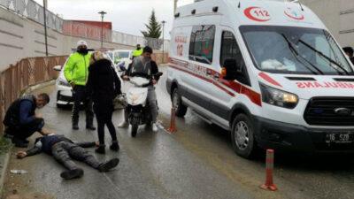 Yer: Bursa… Kaza yaptı, arandığı tespit edilince gözaltına alındı