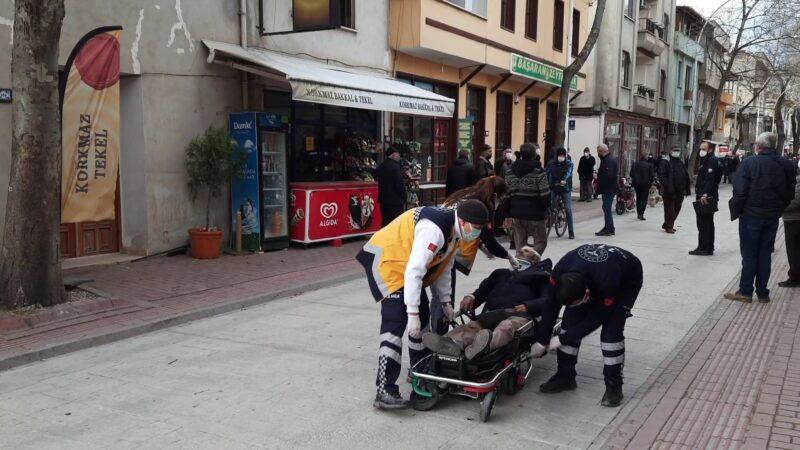 Bursa'da motosiklet köpeğe çarptı: 1 yaralı