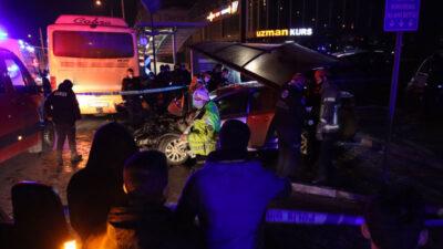 Bursa'da korkunç kaza: 1 ölü, 4 yaralı