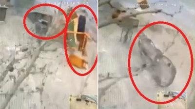 Bursa'da lodos dehşetinden yeni görüntüler