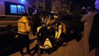 Bursa'da polisten kaçarken kaza yaptı! Üzerinden uyuşturucu ve silah çıktı
