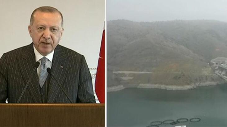 16 ilin geçiş noktası! Açılışını Cumhurbaşkanı Erdoğan yaptı