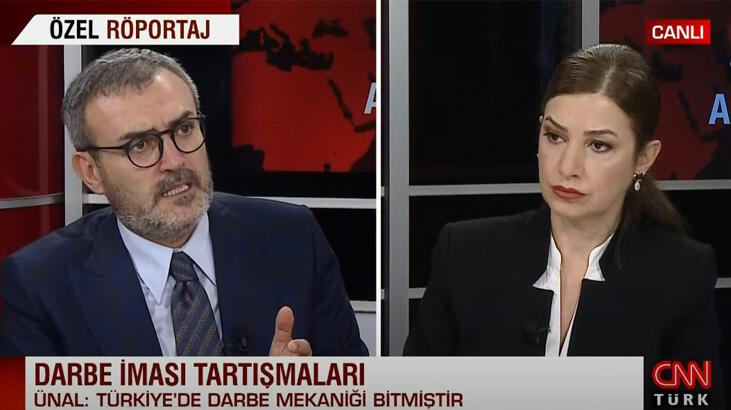 AK Partili Mahir Ünal'dan darbe iması tartışmalarına net yanıt