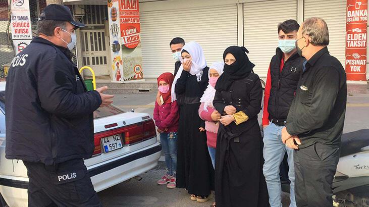 Kısıtlamaya uymayıp hasta ziyaretine gidiyorlardı! 18 bin 310 lira ceza…