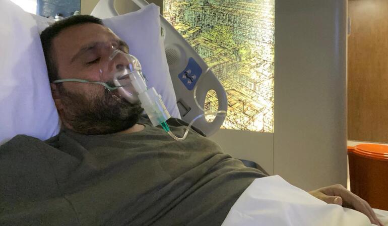 Hastaneye kaldırılan ünlü sunucu gözyaşları içinde anlattı