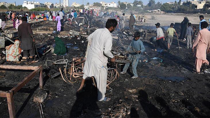 Gecekondu mahallesinde yangın: Alev alev yandı!