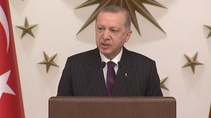 Cumhurbaşkanı Erdoğan'dan AB'ye üyelik çağrısı