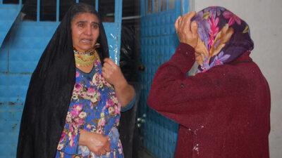 Mahalleli sokağa döküldü, evlerinin yanışına hüngür hüngür ağladılar
