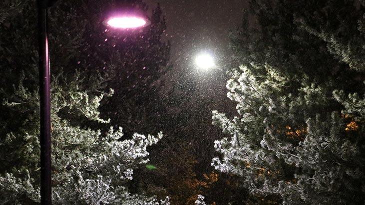 Meteoroloji illeri tek tek saydı ve uyardı! Yoğun kar yağışı