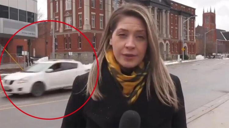 Şoke edici! Canlı yayında kadın muhabire…