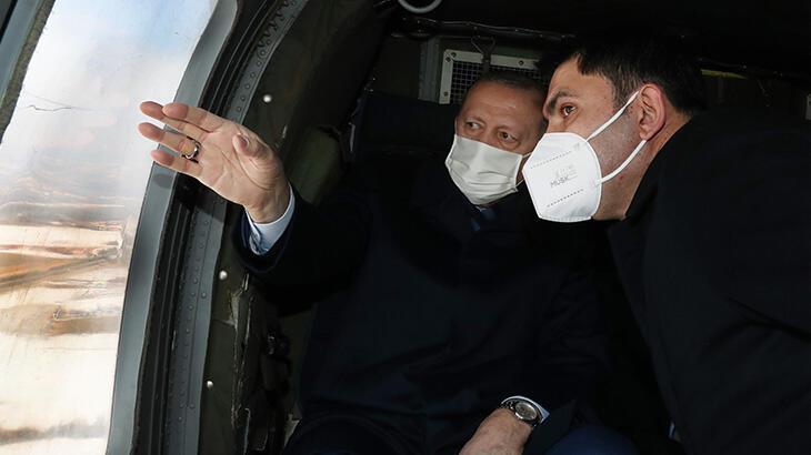Cumhurbaşkanı Erdoğan Elazığ'da! Deprem konutlarını inceledi