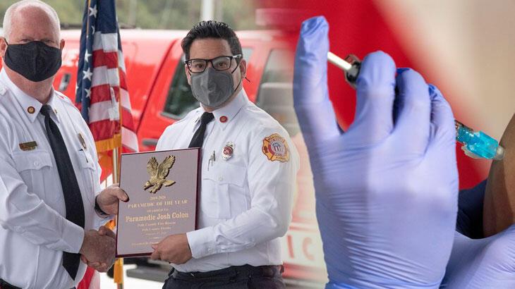 Sağlık görevlisi aşı hırsızlığından tutulandı