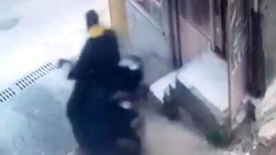 Bursa'da güpegündüz motosiklet hırsızlığı