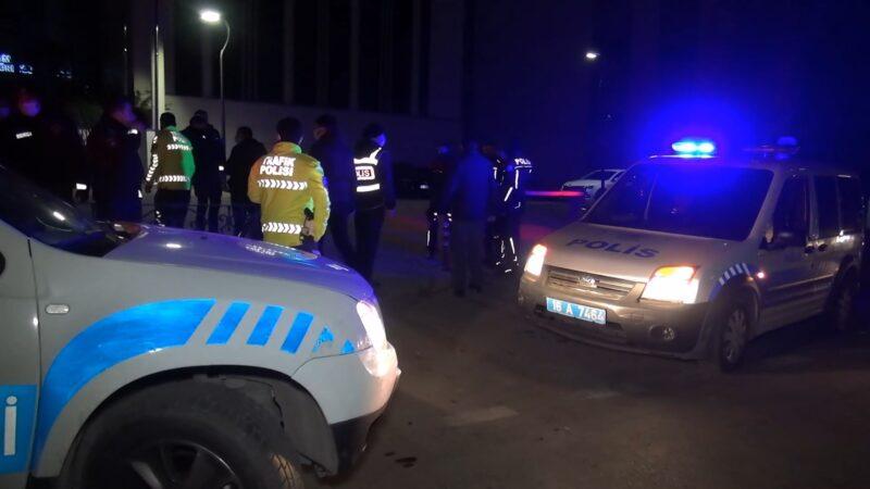 Bursa'da kontrol noktasında polise saldırdı