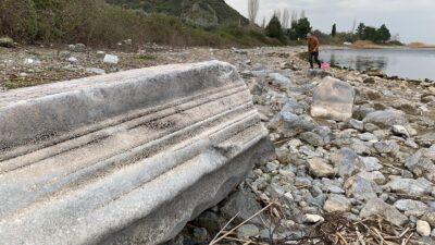 Yer: Bursa… Sular çekilince gün yüzüne çıktı