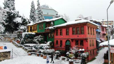 Bursa'nın tarihi yerleri karlar altında
