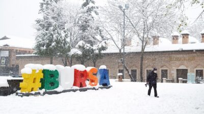 'Sessiz Bursa'dan kar manzaraları