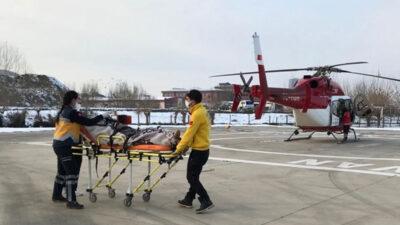 Bursa'da 78 yaşındaki hasta için seferberlik