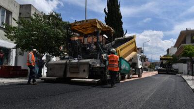 Osmangazi'den 1 yılda 55 bin 700 ton asfalt