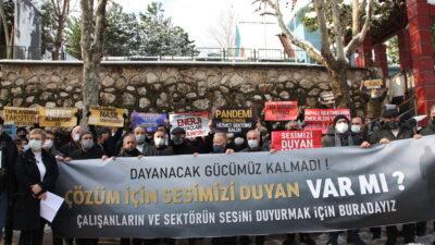 Bursalı işletmeciler isyan bayrağını çekti; BATIYORUZ!