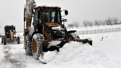 Osmangazi'de 'kar' seferberliği