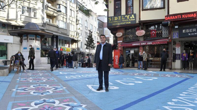 Osmangazi'de sokaklar renklendi