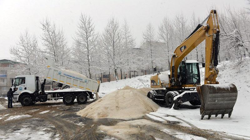 Yıldırım Belediyesi kışa hazır