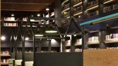 Yıldırım'ın uyumayan kütüphanesi yarın açılıyor