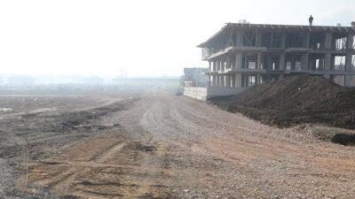 Akhisar Mahallesinde 3 Km'lik yeni yol açılıyor