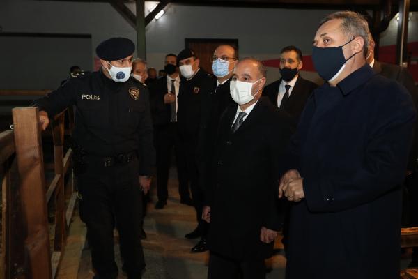 Emniyet Genel Müdürü yeni yıla Bursa'da girdi