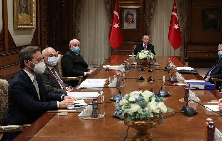 Yüksek İstişare Kurulu Beştepe'de toplandı
