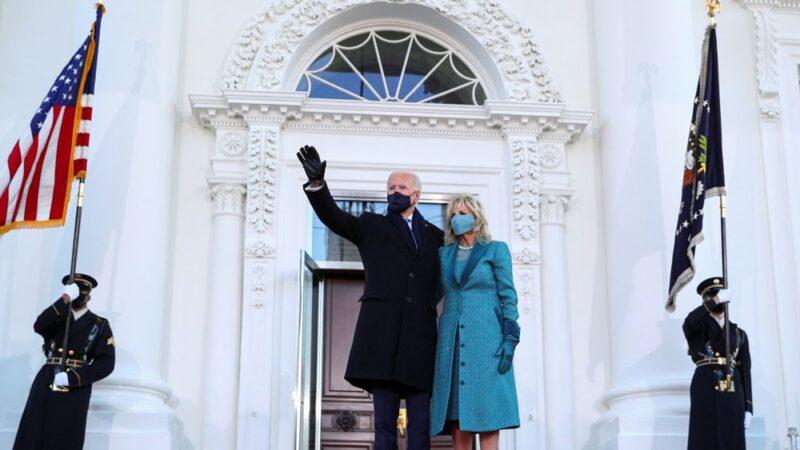 Joe Biden Beyaz Saray'da…