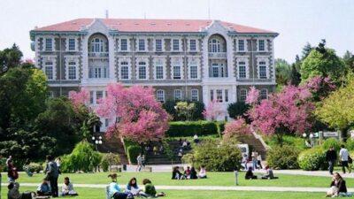 Boğaziçi Üniversitesi'ne personel alımı