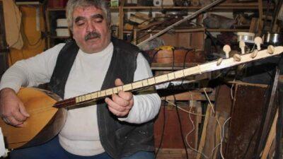 Bursa'da bağlama sanatçısı kalbine yenik düştü