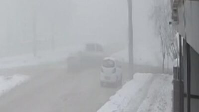 Bursa'da sis ve buzlanma kazaya neden oldu