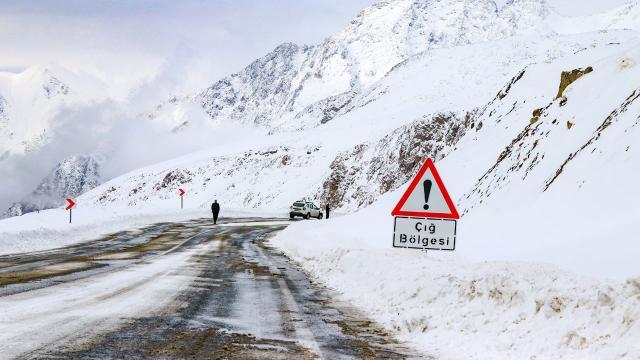 Meteoroloji'den doğu bölgeleri için çığ uyarısı