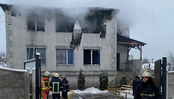Ukrayna'da huzurevi yangını: 15 ölü