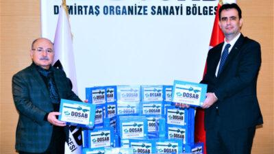 DOSAB'lı sanayiciler ihtiyaç sahibi öğrencilere 200 adet klavyeli tablet desteği sağladı